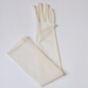 Elegant Stretch Satin Dance Party Wedding Bridal Long Gloves Mix Colors Mittens