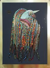 "Limited Ed. Silkscreen ""Bird""  Hand Signed Alkara"