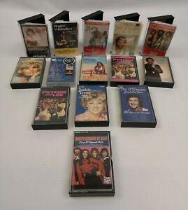 Job Lot 14 x cassettes Tapes Rock Pop Soul 70s Bundle