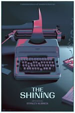 Laurent Durieux THE SHINING Poster Dull Boy VARIANT Mondo Kubrick Screen Print
