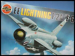 AirFix English EE Lightning F2A/F6 1:48 Model Kit