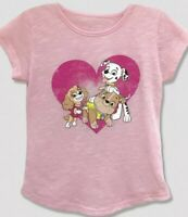 NWT TODDLER GIRL PAW PATROL HEART SHIRT SIZE 2T