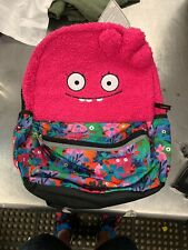 "New Ugly Dolls Moxy Pink Plush 16"" Backpack, Free Shipping!"