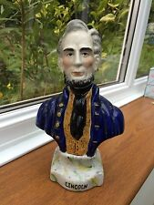 Staffordshire Ceramica Statua Presidente Lincoln