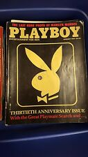 Playboy: Entertainment for Men 1984 Full Year of 12 Back issues