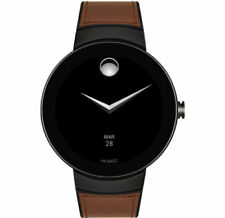 New Movado Connect Brown Strap Men's Smart Watch 3660019
