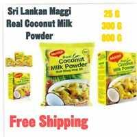 25/300/800g Maggi Real Coconut Milk Powder Dried Organ Premium Quality Sri Lanka