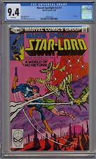 Marvel Spotlight on Star-Lord #v2 #7 CGC 9.4 NM Wp Marvel Comics 1980 GOTG Movie