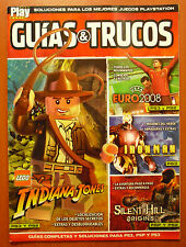 Guides Lego Indiana Jones, Silent Hill Origins, Iron Man, Psp Ps2 Ps3 Wii 360 Pc