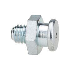 M6 x 1,0 [10 Stück] DIN 3404 Ø10mm Flachschmiernippel Stahl verzinkt