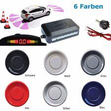Einparkhilfe 4 Sensoren PDC Parkhilfe Kit Display&Ton für VW POLO T4 Grau DE