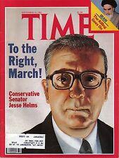 TIME MAGAZINE SEPTEMBER 14 1981 JESSE HELMS IRAN CHRIS EVERT LLOYD PET SCANNER