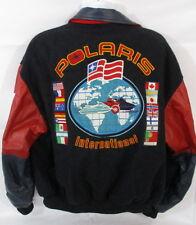 Polaris International Wool & Leather Coat, Vintage, Large, GREAT CONDITION