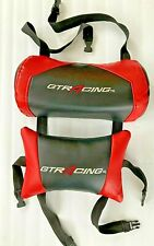 New listing Gtracing Gaming Chair Replacement Headrest and Back Pillow Red & Black