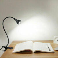 LED Flexible USB Reading Light Clip-On Beside Bed Table Desk Lamp Hight Quality
