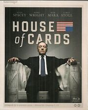 """Blu-Ray """"House of Cards Coffret intégral de la Saison 1""""  NEUF SOUS BLISTER"""