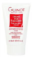 Guinot Pure Balance Cream Creme Oily Skin 100ml(3.4oz) Prof Fresh New