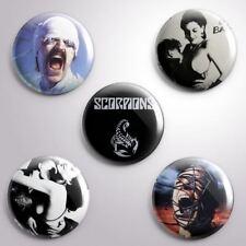 5 SCORPIONS -  Pinbacks Badge Button 25mm 1''..
