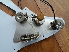Vintage 1974 Lefty Fender Stratocaster Harness Pots cap 1452 Switch Left Hand