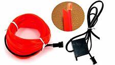Ambiente beleuchtung EL Lichtleisten Neon Innenraumbeleuchtung Neon Rot 2x1m