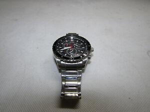 Citizen Eco-Drive Chrono Stainless Steel Bracelet Watch H500-S081629 RF4180