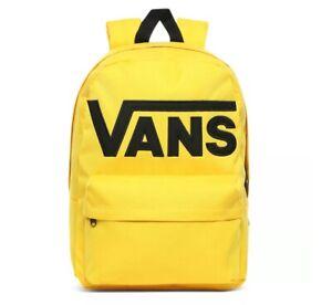 Vans Old Skool III Backpack Lemon Chrome
