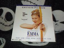 Emma Widescreen Laserdisc LD Gwyneth Paltrow Free Ship $30 Orders