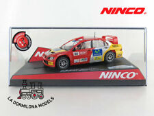 NINCO 50401 MITSUBISHI LANCER WRC CATALUNYA-C-DAURADA - SLOT SCALEXTRIC - NUEVO