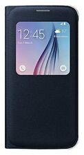 Original Samsung Galaxy S6 S-View Cover EF-CG920BB Handy Schutz Hülle Schwarz