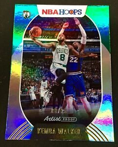 20/21 Hoops #173 Kemba Walker Artist Proof Foil 8/25 (Jersey #!) Celtics