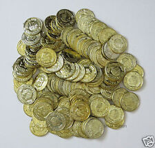 144 Plastic Gold Coins Pirate Party Goody Bag Chest Loot Play Money Favor Supply