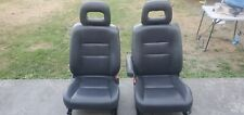 RARE 1997-2001 Honda CRV front leather seats,rd1rd2.rd3