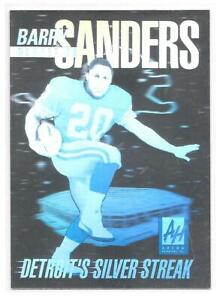 Barry Sanders SP Hologram Card 1991 Arena Holograms Detroit Lions HOFr