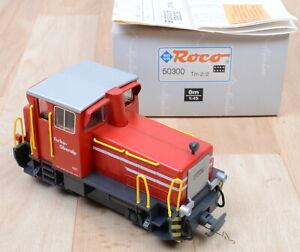 Roco Alpin Line 50300 Diesellok Tm 2/2 Furka Oberalp / analog / DSS / Spur 0m