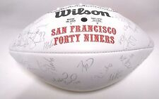 Jerry Rice Steve Young Terrell Owens 1996 49ers Team Autographed Signed Football
