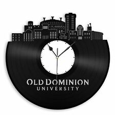 Old Dominion University Vinyl Wall Clock Record Decorative Design Bedroom Decor