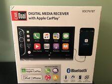 Dual Electronics Bluetooth 6.2″ Lcd Double Din Car Stereo w/ Apple CarPlay iPod