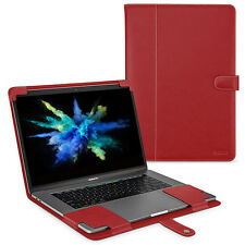 "TETDED Premium Leather Case for Apple MacBook Pro 15"" Touch Bar 2017 LC Red"