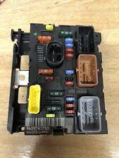 Peugeot 207 307 C3 Fusebox BSM Board 9659741780 Boîte à Fusibles