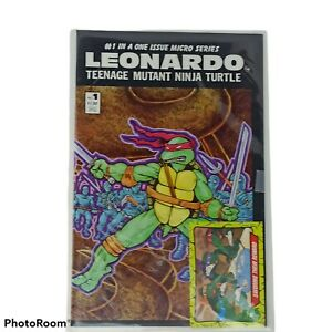 Leonardo 1986 Teenage Mutant Ninja Turtles No. 1 Micro Series Comic