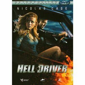 DVD - HELL DRIVER / NICOLAS CAGE, HAMBER HEAD, METROPOLITAN