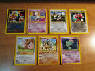 Pokemon Black Star PROMO Card Set MEW#8+SCIZOR#33+ENTEI#34+HITMONTOP#37+SMEARGLE