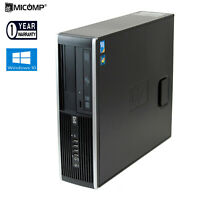 Fast HP Desktop Computer PC Core i5 3.20Ghz 4GB RAM Large 1TB HDD DVD Windows 10