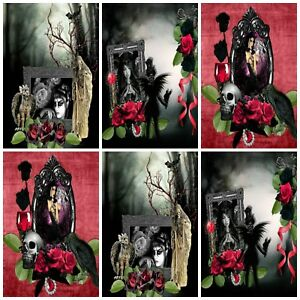 GOTHIC DREAMS TOPPERS Embellishments (12), Card Making Toppers, Card Toppers