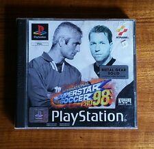 International SUPERSTAR SOCCER PRO 98 (Sony Playstation 1, 1998)