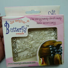 THE NICKEL STORE:  THE ORIGINAL BUTTERLFY COMB HAIR ACCESSORY, BRAND NEW (B5)