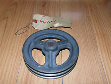 """Wheel Horse Cast Iron Pulley 5766, Double """"V"""" , New Old Stock"""
