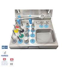 Implante Dental Twist Taladros Compacto organizado Kit/Kit de implante quirúrgico 1pd