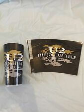 U2 exclusive Joshua Tree Tour 2017 (RARE) plastic pint cup collectable + Sticker