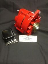 1963 - 72  BUICK LESABRE 135 AMP HIGH PERFORMANCE POWDERCOATED ALTERNATOR RED